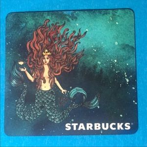 **only 2 available* RARE Starbucks Siren Mouse Pad